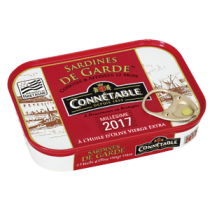 Sardines de garde in extra virgin Olive Oil Connetable
