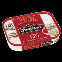 Sardines de garde in extra virgin Olive Oil Connetable  (4.1oz/115g)