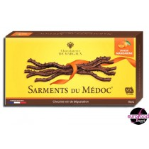 Dark chocolate mandarin twigs - Chocolaterie de Margaux
