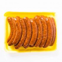 24 Lamb Merguez - Spicy Lamb Sausage  Fabrique delices (3 lbs) All natural