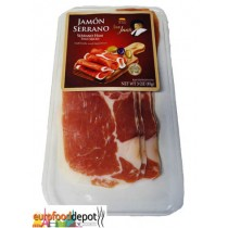 Serrano Ham 14 months Sliced from Spain (2.82oz-80gr)