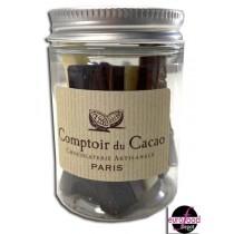 Eiffel tower chocolates mini jar - Comptoir du Cacao
