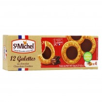 St Michel 12 chocolate butter cookies