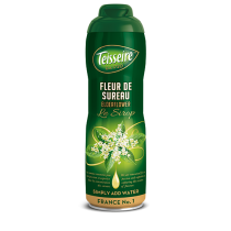 Teisseire Elderflower Syrup (Fleur de Sureau) - Concentrated - 20.3 fl.oz. 60cl