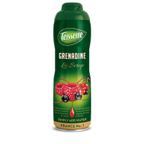 Teisseire Grenadine Syrup (Pomegranate) - Concentrated - 20.3 fl.oz