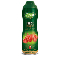 Teisseire Strawberry Syrup - Concentrated - (fraise) 20.3 fl.oz. 60cl
