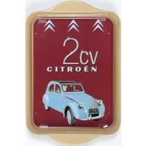 Citroen 2CV Mini Metal Tray