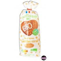 Valfleuri - Organic Red Lentils Pulse Pasta - (250gr/ 8.8oz)