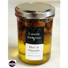 Acacia honey w/ almonds from Abeille Diligente