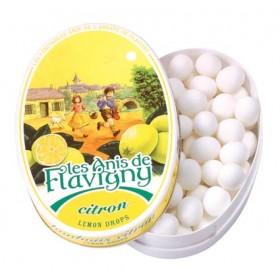 Les Anis de Flavigny - Oval tin Lemon 50g