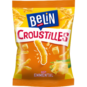 Belin Croustilles French Cheese puffs (3.1oz/88g)