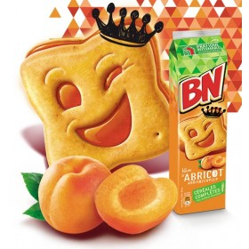 BN Apricot French Cookies
