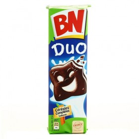 BN French Duo Cookies chocolate/vanilla Filling