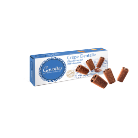 Milk Chocolate Crispy Brittany Crepes by Gavottes (3.2oz/90g)