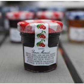 2 Bonne Maman Cherry Preserves - Mini Jar Jam (1oz/28g X2)