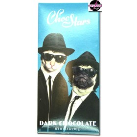 "ChocStars dark Chocolate ""Brothers"" (3.52/100g)"