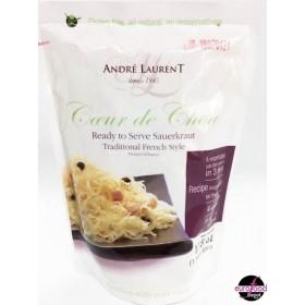 Coeur de Chou Sauerkrout Andre Laurent/ Choucroute (17.8oz/500g)
