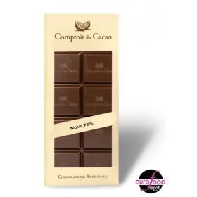 Comptoir du Cacao - Sugar-Free Dark Chocolate Bar - (2.82oz/80g)