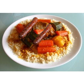 Organic Couscous Merguez For 4/5 pers