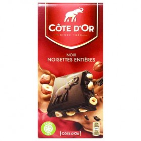 Cote d'Or Belgian Dark Chocolate With Whole Hazelnuts (7oz/180g)