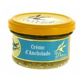 Delices du Luberon - Anchovy Cream 3.1 oz/ Come From south of the France (3.1oz/90g)