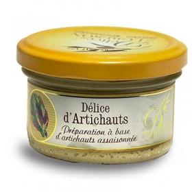 Delices du Luberon - French Delice d'Artichauts - Artichoke Spread (3.1oz/90g)