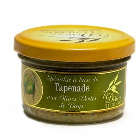 Delices du Luberon - French Green Olive Tapenade (3.1oz/90rg)