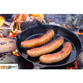 Duck Sausage With Figs & Brandy Fabrique Delices  - 4 Link Pack - 1 Lb