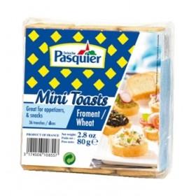 Mini Toast Pasquier French cracker (80g)  Palm Oil Free