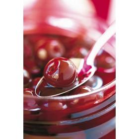 Griottines (cherries in Kirsch) mini jar