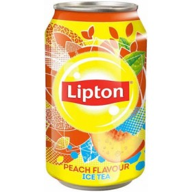 Ice Tea Peach from Lipton 33cl
