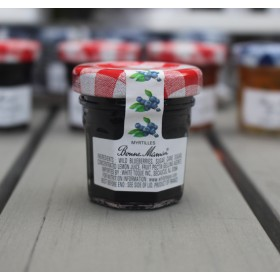 2 Bonne Maman blueberry Preserves - Mini Jar Jam (1oz/28gX2)
