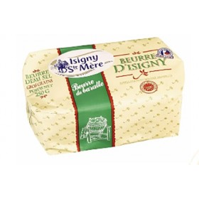 Isigny Salted Butter From France - Beurre demi-sel