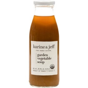 Organic Garden Vegetable Soup by Karine and Jeff (0.5lt/16.9fl oz)