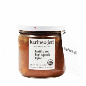 Organic Lentil & Red Curry Squash Vegan by Karine & Jeff (380gr/13.4oz)