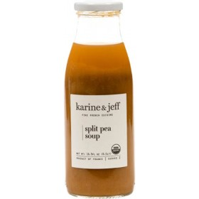 Organic Split Pea Soup by Karine and Jeff (0.5lt/16.9fl oz)