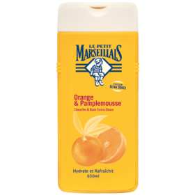 Le Petit Marseillais Shower gel/bath orange & Grapefruit 650ml