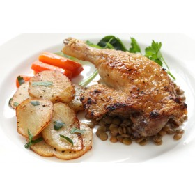 6 Duck Legs Confit Fabrique Delices 3.2Lbs (frozen) - All natural