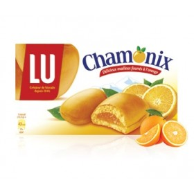 LU Chamonix - Orange biscuits - (8.8oz/250g )