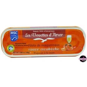 Mackerel Fillets with Escabeche Sauce - Mouettes D'Arvor
