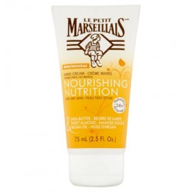 Le Petit Marseillais Shea Butter, Sweet Almond & Argan Oil Hand Cream (2.5 fl oz)
