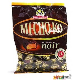 MICHOKO Dark Chocolate Wrapped Caramels Toffee Candy / La Pie Qui Chante (3.5oz/100g)