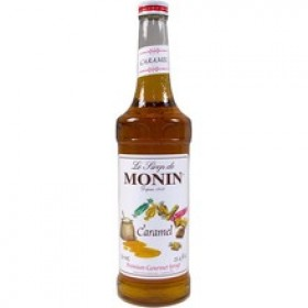 Caramel Syrup - Monin - French - 25.4 oz (750 ml)