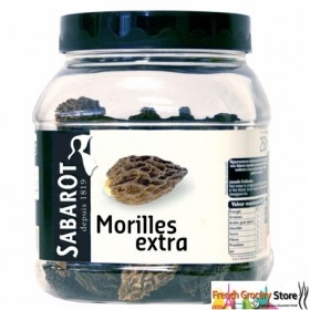 Dried Morels wild mushrooms - Champignons Morilles (1oz/30g)