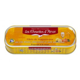 Filets of mackerel marinated in whole-grain mustard sauce-Sauce moutarde a l'ancienne (6 oz/169g)