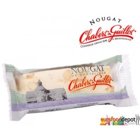 Chabert et Guillot (pack of 2) White nougat bar soft nougat with almonds