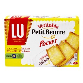 LU Petit Beurre Pocket - 12 Bag Pack x 3 (10,6oz/300g)