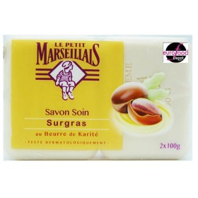 Le Petit Marseillais Shea Butter solid Soap Bar Pack (2X100g)