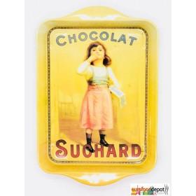 Chocolat Suchard with Little Girl Mini Metal Tray