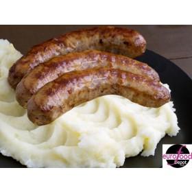 Bangers & Mash Fabrique Delices Ready Meal - Puree saucisses 2 People per serving